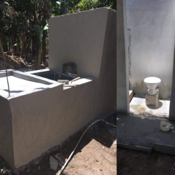 $1200 (full service) Water, hygiene, privacy……what are those things worth to you. We encounter teenage girls who have never had a private bath. In fact, we encounter grandmothers who have never had a bathroom.