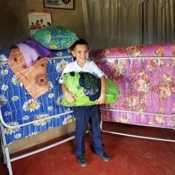 A bed would seem to be a basic necessity of life, but regretfully, there are many Honduran people, both young and old, that do not have a bed. Some are sleeping on dirt floors. A nice bed can improve health and hygiene, while also helping with self-esteem.