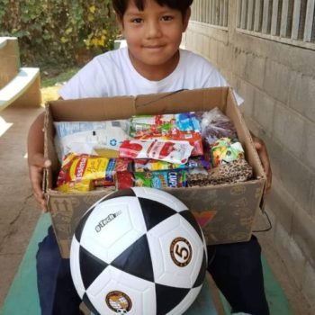 $25 for 2 good soccer balls = equals hours of physical activity and fun. Many children have told us when they receive a soccer ball of their own, it is a dream come true. We can also give these to schools for recess times. Great investment into the physical and mental health of a child.